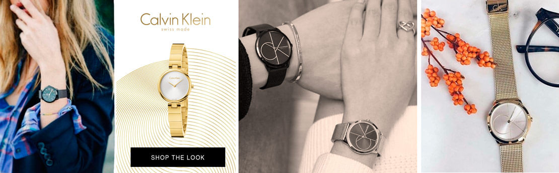 Calvin Klein Watches - Consejo de estilo Style Watch