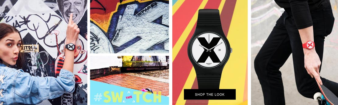 Swatch - Consejo de estilo Style Watch The SWATCH X-Vibe SUOB402